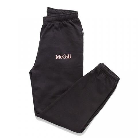 McGill Print Fleece Pant - BLACK