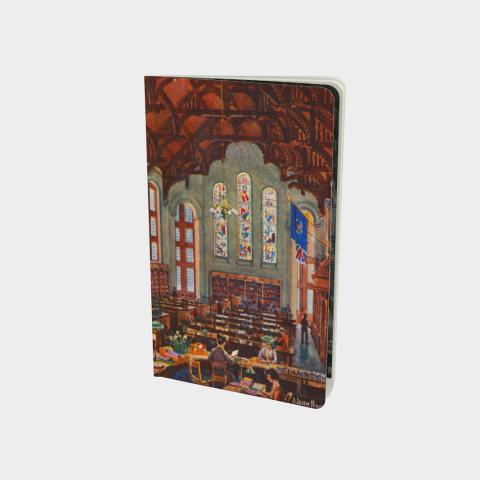 McGill Redpath Library Notebook