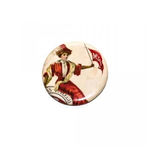 McGill Magnet Red Woman