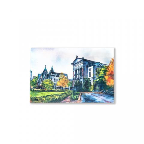 McGill Redpath Museum Postcard