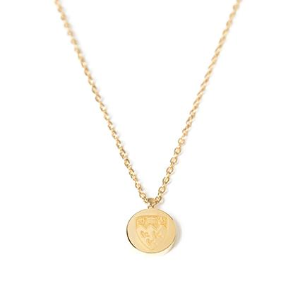 MCGILL NECKLACE CRESTED LAYERING GOLD SS