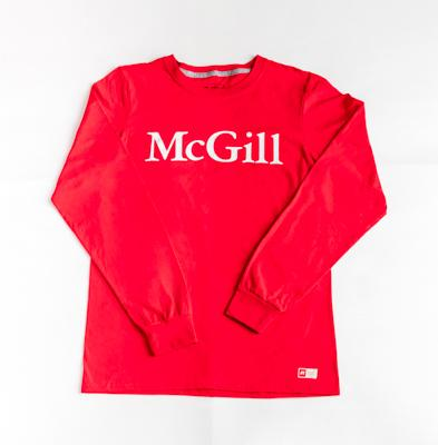 McGill Russell Mens  L/S Tee