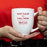 McGill Keep Calm and Call Mom Mug